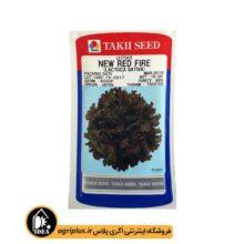 بذر کاهو قرمز مجعد NEW RED تاکی بسته ۱۰ گرمی