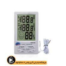 دما و رطوبت سنج MAX/MIN آلارم دار مدل ۹۸۲ TEM