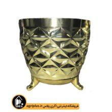 گلدان سیدوس سایز ۱۲۱ طلایی