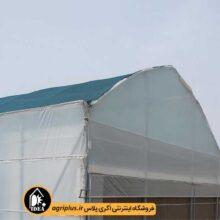گلخانه پیش ساخته طرح اسپانیایی ۱۰۰ متری مدل IPG-P7
